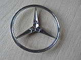 Эмблема z Mercedes Vito 85.3мм нового образца наклейка на авто задняя на направляющих без скотча кузовная , фото 5