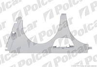 Накладка под фару (ресничка) левая / +отв омыв 95-99 Mercedes E-Class W210 95-03
