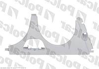 Накладка под фару (ресничка) правая / +отв омыв 95-99 Mercedes E-Class W210 95-03
