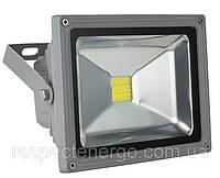 Прожектор светодиодный ENERGIO 20Вт 6000К серый ІР65