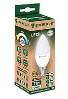 LED лампа Enerlight С37 7Вт 4100K E14, фото 1