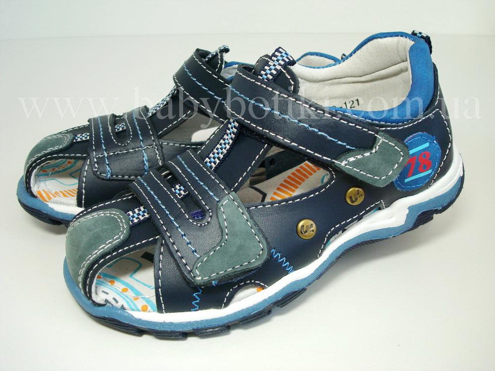 Закрытые сандалии B&G.