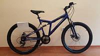 Детский горный велосипед 24 дюймов Azimut Dinamic 106-G-FR/D-1 (оборудование SHIMANO) синий***
