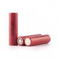 Аккумулятор 18650 для электронной сигареты LG HE2: IMR, незащищённый, 2500 мАч, ток разряда 20А