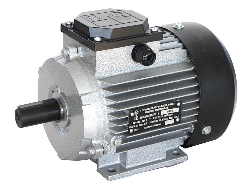 Электродвигатель трехфазный АИР 100 L4 (4кВт/1500об/мин) 380В, 220/380В лапа