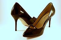 Итальянские туфли на каблуке