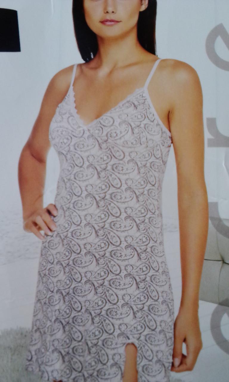 b0faae7cd42f09d Ночная сорочка на тонкой бртельке - Интернет-магазин женского белья