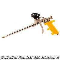 Пистолет для монтажной пены 330 мм, тефлоновое покрытие баллоноприемника, иглы