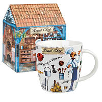 Кружка в упаковке Churchill At Your Leisure Mug Head Chef (YOUR00261)