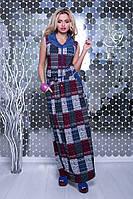 Женские платья макси Мая-1 летние с капюшоном