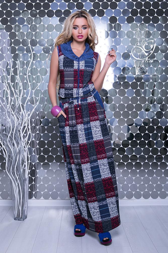 3332f413c48ca99 Женские платья макси Мая-1 летние с капюшоном: продажа, цена в ...