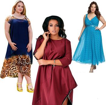 Как выбрать платье для полных женщин?