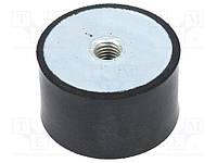 Виброамортизатор для виброплиты, вибротрамбовки 75х40мм  (производство-реставрация) полиуретан.