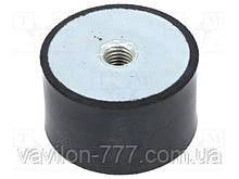 Амортизатор (виброамортизатор) для виброплиты, вибротрамбовки 75х40мм  (производство-реставрация) полиуретан.