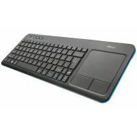 Клавиатура Trust Veza Touchpad UKR