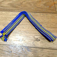 Крайка вузька (синьо-жовта)
