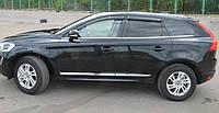 Дефлекторы окон (ветровики) Volvo XC60 2008-
