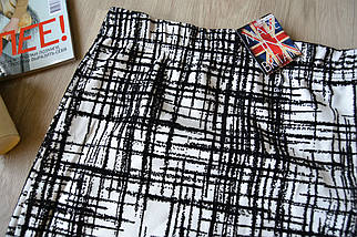 Новая короткая юбка Select с бархатным узором, фото 2