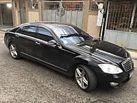 Дефлекторы окон (ветровики) Mercedes Benz S-klasse (W221) Long 2005-2013