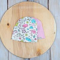 Наборы шапочек для девочек 42-54см