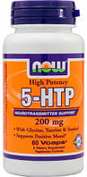 5-HTP 200 mg NOW, 60 капсул