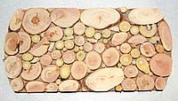 Деревянная подставка под горячее из можжевельника