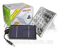 Светодиодная лампа фонарь Светильник с Солнечной батареей Gdlite GD-025 Акция !!!