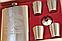 Набор фляга + 4 стопки  Jim Beam, фото 2