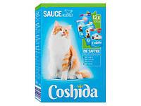 Кішка вологий корм соковитих шматочків в соусі COSHIDA Katzennassnahrung saftige Leckerbiss, 1,2кг