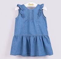 Джинсовое платье Бемби ПЛ171 (р.86,92,98)
