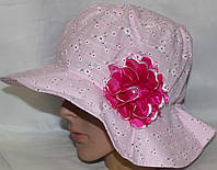 Шляпа-панама. Х.б  р.р 52-54