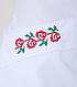 Женский медицинский халат с вышивкой , фото 2