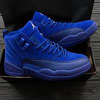 "Кроссовки Air Jordan 12 Retro ""All Blue"""
