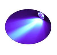 Фонарик Bailong Police BL-7020-2, Ультрафиолетовый + белый! 2 диода + зум, В наличии