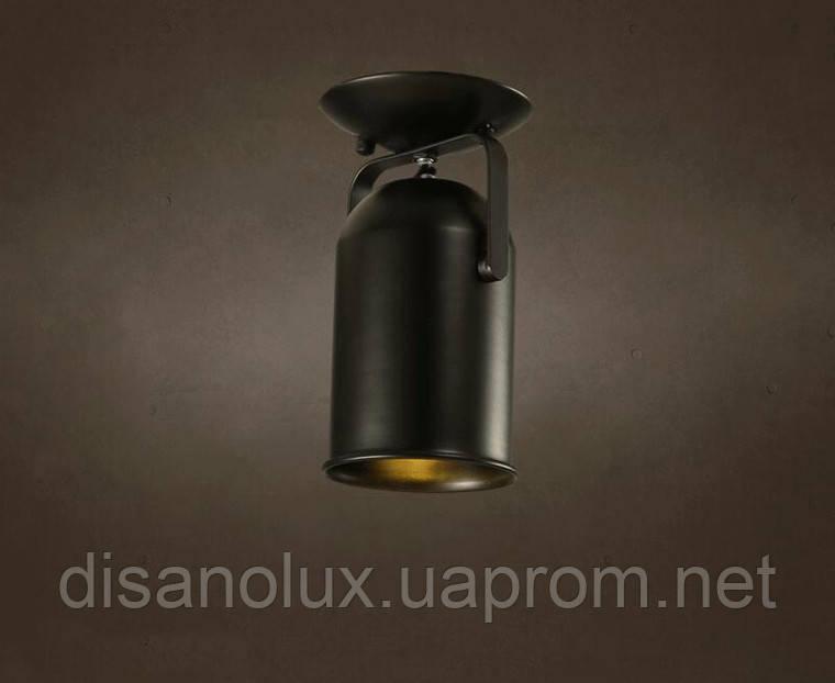 Светильник LOFT  DL -D120  BLACK  E27