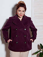 Женское пальто- бушлат Батал +++ от р.52-58