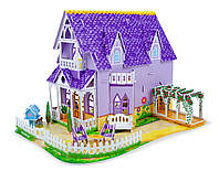 Объемный 3D пазл Melissa & Doug - Фиолетовый домик