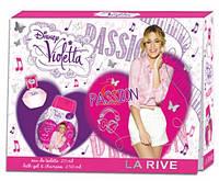 Набор детский La Rive Violetta - 20 мл парфюмированая вода + 250 мл гель для душа