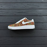 """Кроссовки Nike Air Force 1 Flyknit Low """"Multicolor"""""""