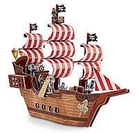 Объемный 3D пазл Melissa & Doug - Пиратский корабль