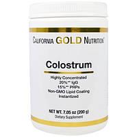 Colostrum California Gold Nutrition, Молозиво, 7,05 унций (200 г)