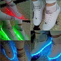 Оригинальные светящиеся LED кроссовки р41