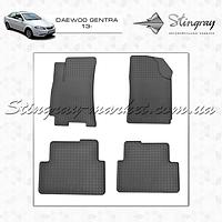 Комплект резиновых ковриков Stingray для автомобиля Коврики автомобильные в салон Daewoo gentra 2013-     4шт.