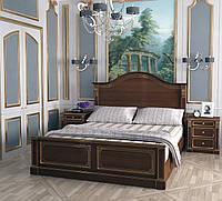 Кровать из массива дерева классическая
