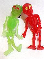 Оригинальный Сувенир Резиновый Скелет Прикол для Вечеринки