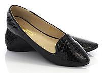 Классические женские балетки чёрного цвета размеры 36-40