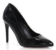 Женские туфли из лаковой искусственной кожи