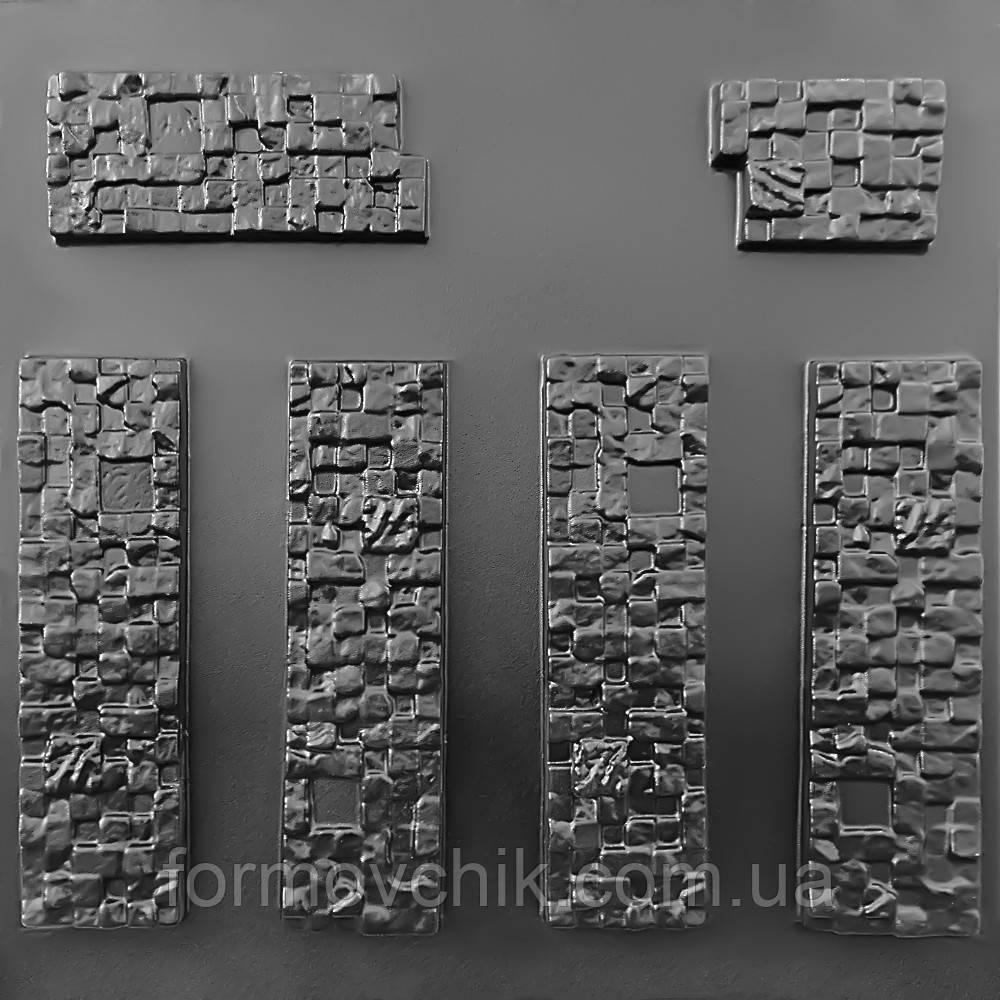 """Форма для искусственного камня """"Кирпич пиксель"""""""