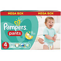 Трусики Pampers Pants 4 Maxi (9-14 кг) 104 шт