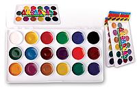 Акварельные краски медовые Набор из 18 цветов